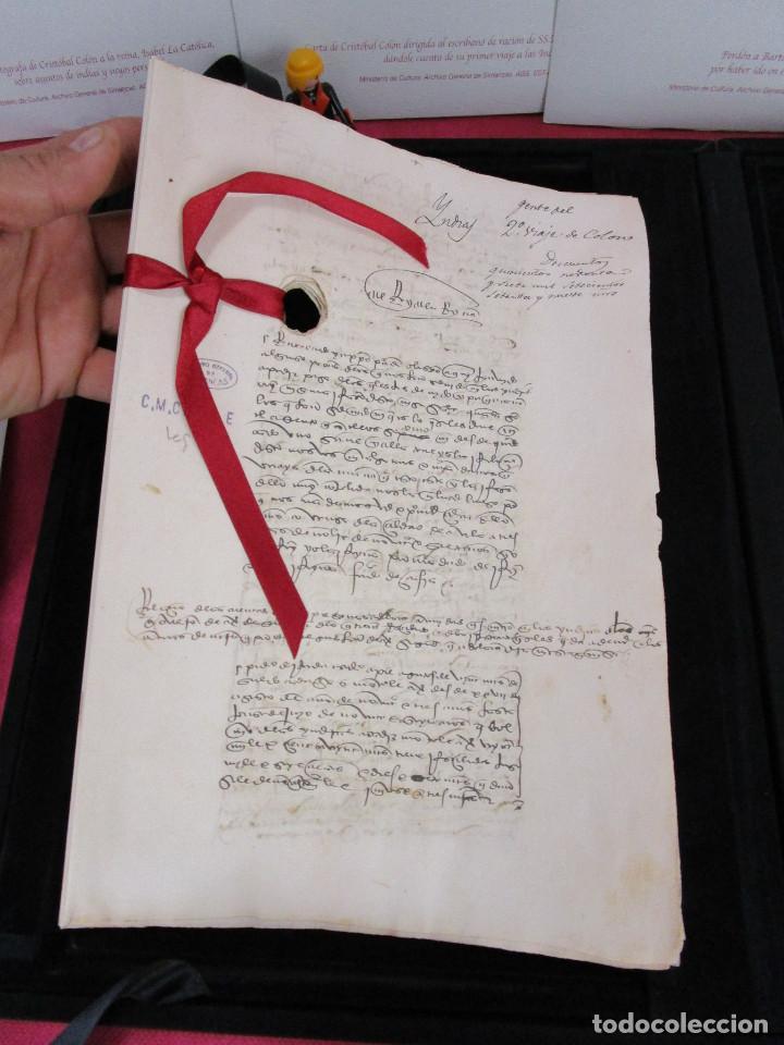 Libros de segunda mano: DE MUSEO! DOCUMENTOS COLOMBINOS EN EL ARCHIVO GENERAL DE SIMANCAS V CENTENARIO CRISTOBAL COLON - Foto 5 - 138683706