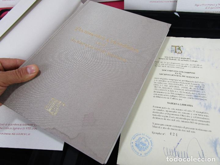 Libros de segunda mano: DE MUSEO! DOCUMENTOS COLOMBINOS EN EL ARCHIVO GENERAL DE SIMANCAS V CENTENARIO CRISTOBAL COLON - Foto 8 - 138683706