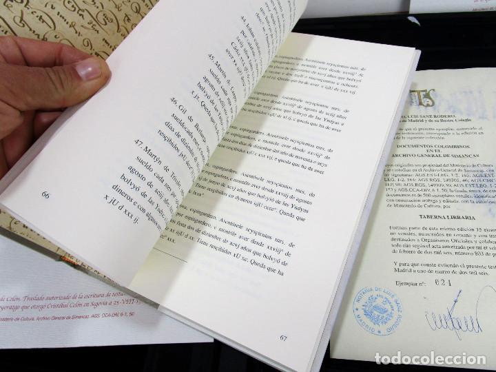 Libros de segunda mano: DE MUSEO! DOCUMENTOS COLOMBINOS EN EL ARCHIVO GENERAL DE SIMANCAS V CENTENARIO CRISTOBAL COLON - Foto 9 - 138683706