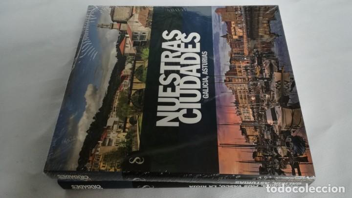 Libros de segunda mano: NUESTRAS CIUDADADES-12 TOMOS COMPLETA-SIGNO EDITORES-NUEVA LA MAYORÍA PRECINTADOS DE ORIGEN - Foto 5 - 138698098