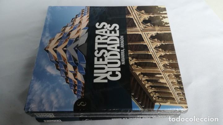 Libros de segunda mano: NUESTRAS CIUDADADES-12 TOMOS COMPLETA-SIGNO EDITORES-NUEVA LA MAYORÍA PRECINTADOS DE ORIGEN - Foto 6 - 138698098