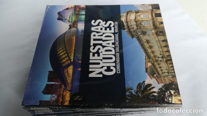 Libros de segunda mano: NUESTRAS CIUDADADES-12 TOMOS COMPLETA-SIGNO EDITORES-NUEVA LA MAYORÍA PRECINTADOS DE ORIGEN - Foto 8 - 138698098