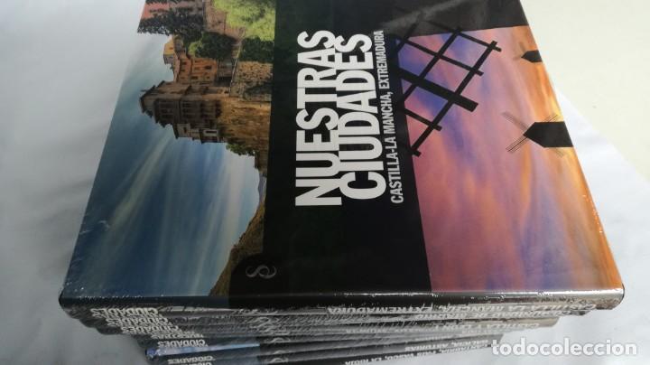 Libros de segunda mano: NUESTRAS CIUDADADES-12 TOMOS COMPLETA-SIGNO EDITORES-NUEVA LA MAYORÍA PRECINTADOS DE ORIGEN - Foto 12 - 138698098