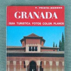 Libros de segunda mano: GUÍA TURÍSTICA DE GRANADA - EDITORIAL NOGUER 1973. Lote 138757946