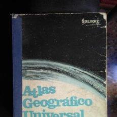 Libros de segunda mano: SALINAS, ATLAS GEOGRÁFICO UNIVERSAL. Lote 138869890