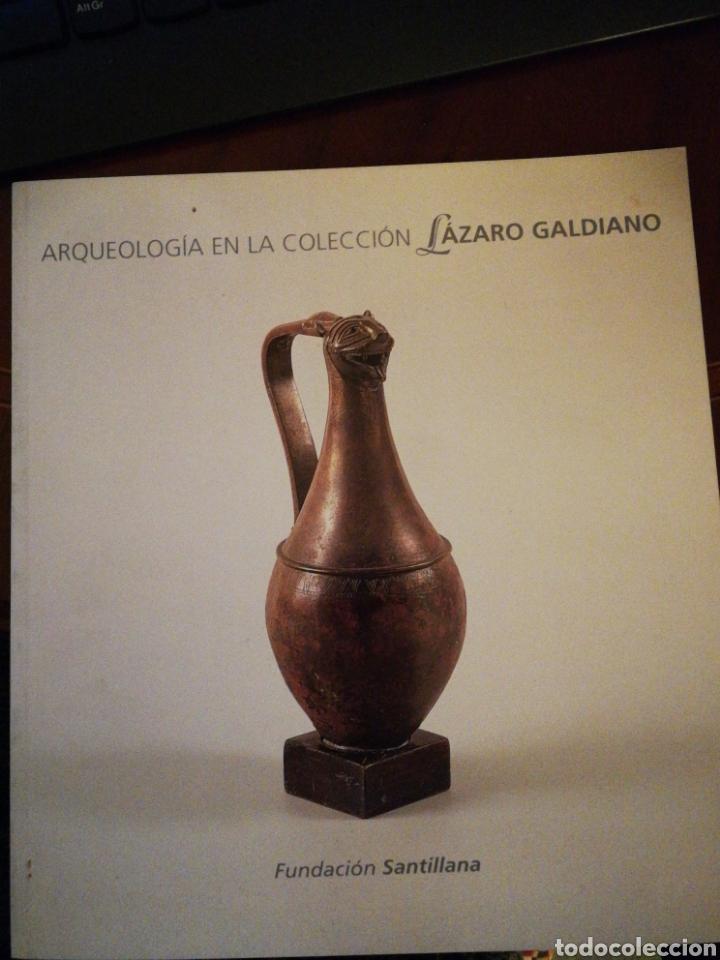 ARQUEOLOGÍA EN LA COLECCIÓN LÁZARO GALDIANO FUNDACIÓN SANTILLANA, SANTILLANA DEL MAR 1999 (Libros de Segunda Mano - Geografía y Viajes)