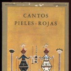 Libri di seconda mano: CANTOS PIELES ROJAS. ED. OLAÑETA 1983.. Lote 139314054