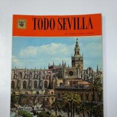 Libros de segunda mano: TODO SEVILLA. 140 FOTOS A TODO COLOR. EDITORIAL ESCUDO DE ORO. TDK211. Lote 140231486