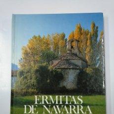 Libros de segunda mano: ERMITAS DE NAVARRA. FERNANDO PEREZ OLLO. CAJA DE AHORROS DE NAVARRA. 1983. TDK356. Lote 140244842
