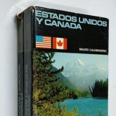 Libros de segunda mano: ESTADOS UNIDOS Y CANADA. (DOS VOLUMENES). 1 Y 2. - CALAMANDREI, MAURO. TDK356. Lote 140249374