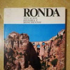 Libros de segunda mano: RONDA. SITUACION, HISTORIA Y MONUMENTOS (FRANCISCO TORNAY ROMAN). Lote 140449210