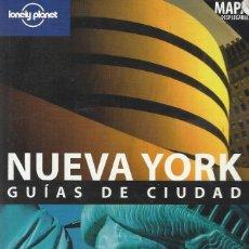Libros de segunda mano: NUEVA YORK. LONELY PLANET 2004 -MAPA DESPLEGABLE-. Lote 140485550