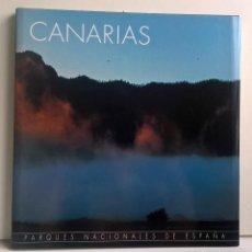 Libros de segunda mano: PARQUES NACIONALES DE ESPAÑA : CANARIAS - CÍRCULO DE LECTORES - AÑO 2001. Lote 159000366