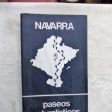 Libros de segunda mano: NAVARRA PASEOS NATURALISTICOS ( ARCHIVADOR CON FICHAS ) . Lote 141125238