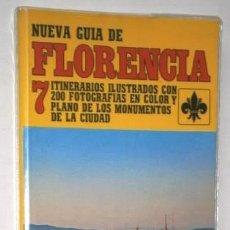 Libros de segunda mano: NUEVA GUÍA DE FLORENCIA POR EDICIONES BECOCCI EN MILÁN 1982. Lote 141334698