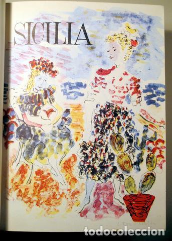 SICILIA. NUMS 31 AL 36 - PALERMO 1961-1962 - MUY ILUSTRADO (Libros de Segunda Mano - Geografía y Viajes)