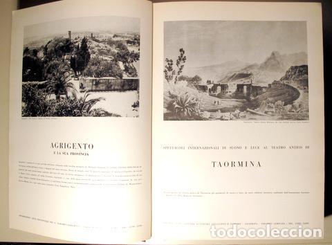 Libros de segunda mano: SICILIA. Nums 31 al 36 - Palermo 1961-1962 - Muy ilustrado - Foto 3 - 142634728