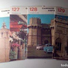Libros de segunda mano: ANTIGUA GUIA TURISTICA CAMINOS DE ESPAÑA VALENCIA. Lote 142780594