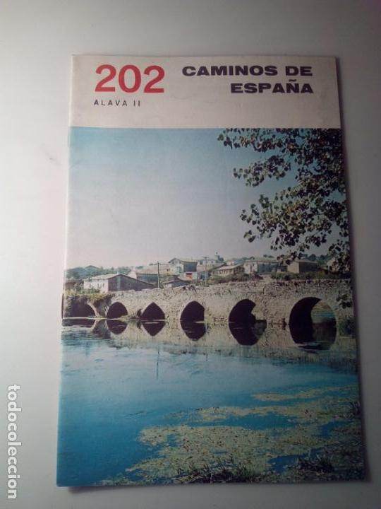 ANTIGUA GUIA TURISTICA CAMINOS DE ESPAÑA ALAVA (Libros de Segunda Mano - Geografía y Viajes)