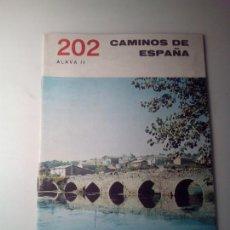 Libros de segunda mano: ANTIGUA GUIA TURISTICA CAMINOS DE ESPAÑA ALAVA. Lote 142780826