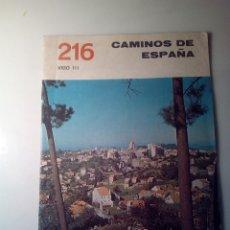 Libros de segunda mano: ANTIGUA GUIA TURISTICA CAMINOS DE ESPAÑA VIGO. Lote 142780986