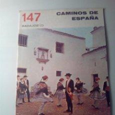 Libros de segunda mano: ANTIGUA GUIA TURISTICA CAMINOS DE ESPAÑA BADAJOZ. Lote 142781026