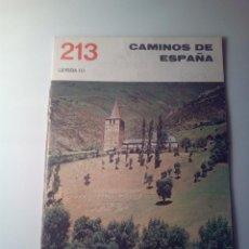 Libros de segunda mano: ANTIGUA GUIA TURISTICA CAMINOS DE ESPAÑA LERIDA. Lote 142781042