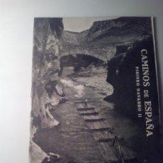 Libros de segunda mano: ANTIGUA GUIA TURISTICA CAMINOS DE ESPAÑA PIRINEO NAVARRO. Lote 142781134