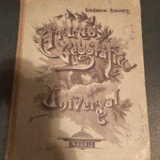 Libros de segunda mano: ATLAS GEOGRÁFICO UNIVERSAL. SALVADOR SALINAS. Lote 143042505