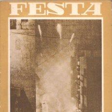 Libros de segunda mano: FESTA ALDAYA AGOSTO 1980 ,FALLAS, SCOUTS DE ALDAYA, EL ABANICO VALENCIANO. Lote 143130278