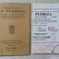 Libros de segunda mano: LA PEDRIZA - ED. ALPINA - CON PLANO. Lote 143718661