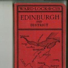 Libros de segunda mano: A PICTORIAL AND DESCRIPTIVE GUIDE TO EDINBURGH. Lote 143725838