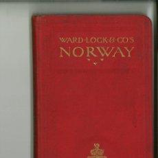 Libros de segunda mano: HANDBOOK TO NORWAY.. Lote 143727858