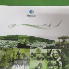 Libros de segunda mano: FIESTAS DE INTERÉS TURÍSTICO DE ANDALUCÍA - EDITA JUNTA DE ANDALUCIA 1ª EDICIÓN 2004 . Lote 143731674