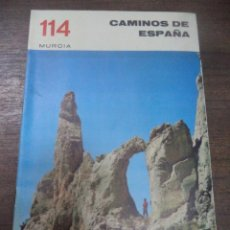Libros de segunda mano: CAMINOS DE ESPAÑA. MURCIA. MURCIA.. Lote 143988242