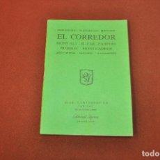 Libros de segunda mano: MUNTANYES I PLATGES DEL MARESME , EL CORREDOR - GUIA CARTOGRÀFICA EDITORIAL ALPINA 1991 - MEB. Lote 144014554