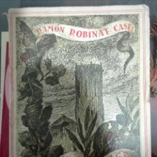 Libros de segunda mano: RAMÓN ROBINAT CASES. ESTAMPAS DE TÁRREGA. 1948 - CON BONITO EX-LIBRIS. Lote 144048686