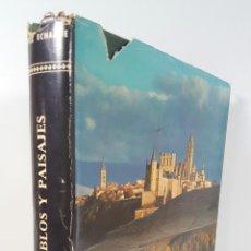 Libros de segunda mano: ESPAÑA. PUEBLOS Y PAISAJES. JOSÉ ORTIZ ECHAGÜE. MADRID. 1963.. Lote 144080522