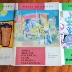 Libros de segunda mano: RUTAS DE ESPAÑA. Nº 4, 9 Y 13. Lote 144096898