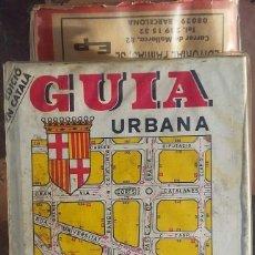 Libros de segunda mano: GUIA URBANA BARCELONA 1989. Lote 144208002