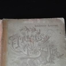 Libros de segunda mano: ATLAS GEOGRAFICO UNIVERSAL SALVADOR SALINAS. Lote 144536842