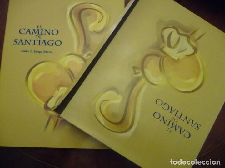 Libros de segunda mano: EL CAMINO DE SANTIAGO, ISIDRO G BANGO TORVISO.ESPASA CALPE/BBV 1993.EN ESTUCHE.303 PP. - Foto 2 - 144902670