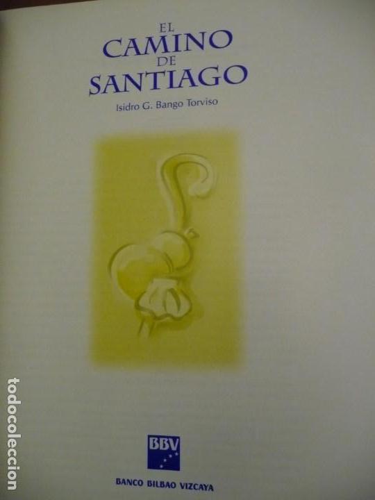 Libros de segunda mano: EL CAMINO DE SANTIAGO, ISIDRO G BANGO TORVISO.ESPASA CALPE/BBV 1993.EN ESTUCHE.303 PP. - Foto 3 - 144902670