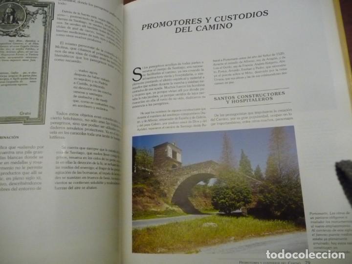 Libros de segunda mano: EL CAMINO DE SANTIAGO, ISIDRO G BANGO TORVISO.ESPASA CALPE/BBV 1993.EN ESTUCHE.303 PP. - Foto 4 - 144902670