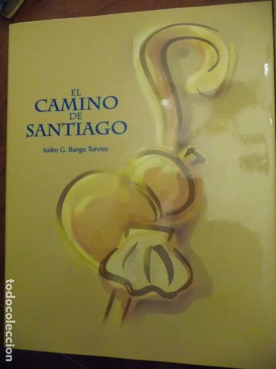 EL CAMINO DE SANTIAGO, ISIDRO G BANGO TORVISO.ESPASA CALPE/BBV 1993.EN ESTUCHE.303 PP. (Libros de Segunda Mano - Geografía y Viajes)
