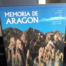 Libros de segunda mano: MEMORIA DE ARAGÓN. Lote 144974166