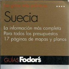 Libros de segunda mano: LAS GUIAS MAS PRACTICAS SUECIA GUIAS FODOR'S EL PAIS AGUILAR. Lote 145355210