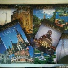 Libros de segunda mano: CIUDADES DE EUROPA. COMPLETA Y PRECINTADA. ED / GRUPO CULTURAL. + DE 1800 PÁGINAS / LUJO. Lote 146376176