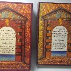 Libros de segunda mano: CATALOGO DE MONUMENTOS Y CONJUNTOS DE LA COMUNIDAD VALENCIANA.. Lote 146425228