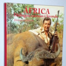 Libros de segunda mano: AFRICA. DIALOGOS, CACERIAS Y LEYENDA. (CAZA). Lote 146602482